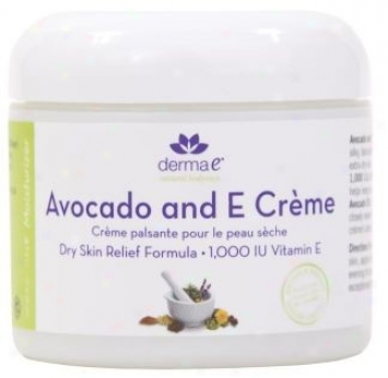 Derma-e's Avocado & E Skin Cream 4oz