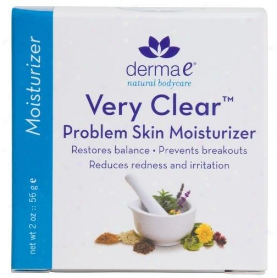 Derma-e's Cear Skin 3 - Moisturizer 2oz