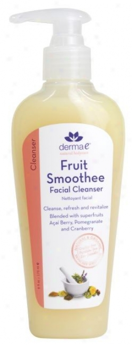 Derma-e's Face Cleanser Fruit Smoothe 6oz