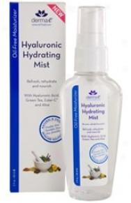 Derma-e's Hydratinb Mist Hyaluronic 2oz
