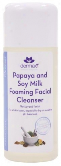 Derma-e's Papaya & Soy Milk Facial Cleanser 6oz