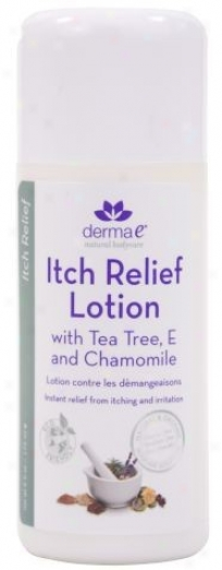 Derma-e's Tea Tree Itch Relief Lotion 6oz