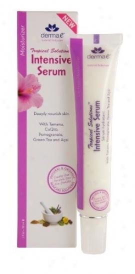 Derma-e's Tropical Solution Serum Intensive 1oz