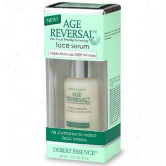 Desert Essence's Face Serum Age Reversal 1.0 Fl Oz