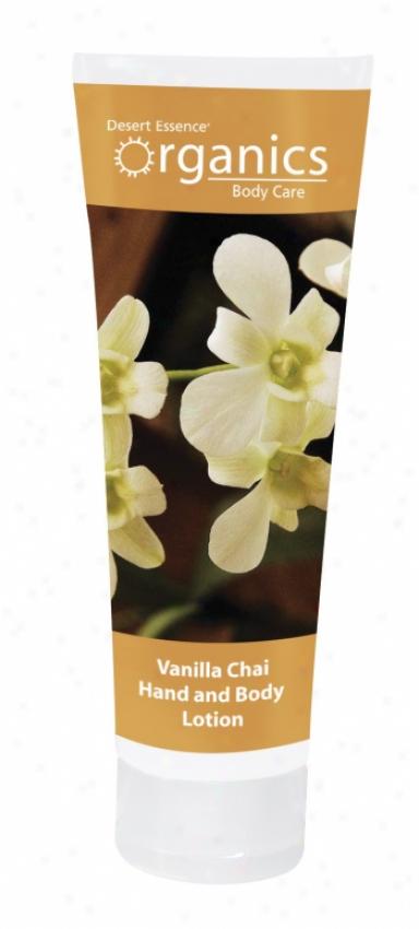 Desert Essence's Hand & Body Lotion Vanilla Chai 8oz