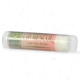 Desert Essence's Lip Rescue Shea Butter .15oz