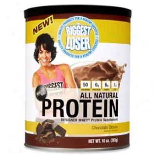 Designer Protein's Biggest Loser Whey Protein Chocolate Deluxe 10oz