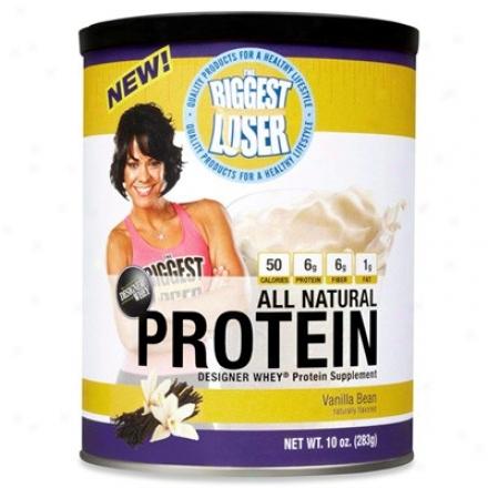 Designer Protein's Biggest Loser Whey Protein Vanilla Bean 10oz