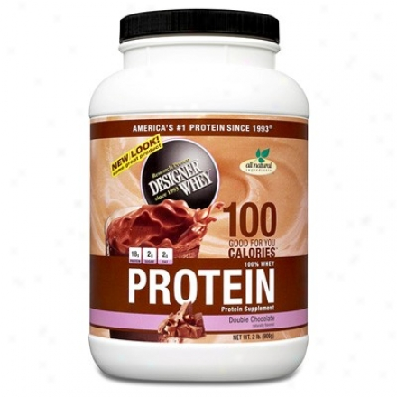 Designer Protein's Whey Protein Double Chocolate Powder 2lb