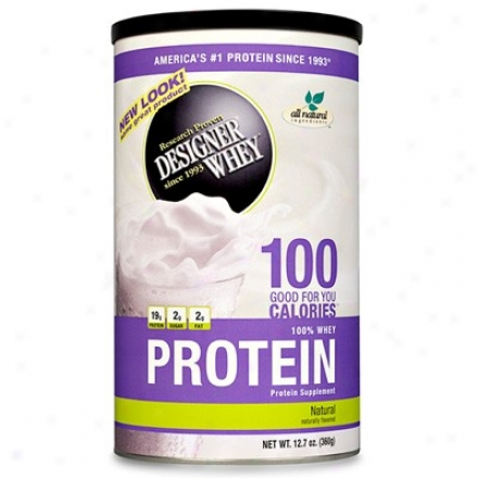 Designer Protein's Whey Protein Natural Powder 12.7oz