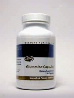 Designs For Health L-glutamine 850 Mg 120 Caps