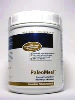 Designs For Health Paleomeal Powde5 Drink Mix Vanilla 540 G