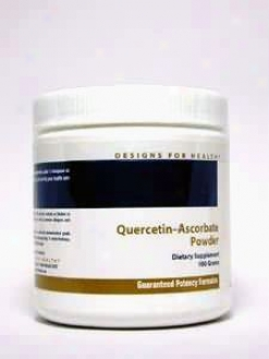 Designs For Health Quercetin Ascorbate Powder 100g