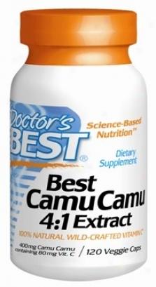 Doctor's Best's Camu Camu 120vcaps