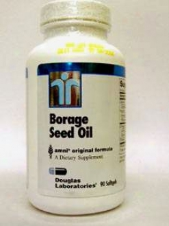 Dougals Lab's Borage Seed Oil 1000 Mg 90 Gels