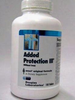 Douglas Lab's Added Protection Iii Iron Free Formula 180 Tabs