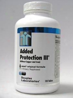Douglas Lab's Addwd Protection Iii No Copper/iron 180 Tabs