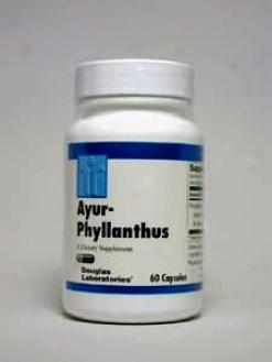 Douglas Lab's Ayur-phyllanthus 250 Mg 60 Caps