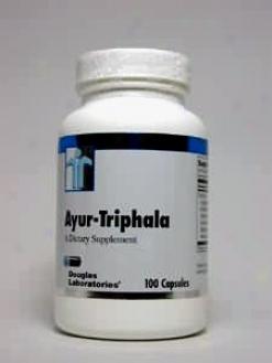 Douglas Lab'ss Ayur-triphala 750 Mg 100 Caps
