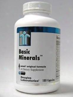 Douglas Lab's Basic Minerals 180 Caps