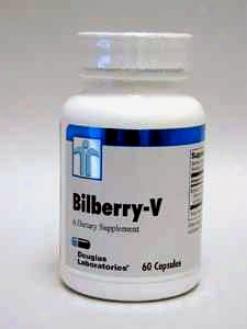 Douglas Lab's Bilberry-v 100 Mg 60 Caps