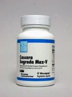 Dougllas Lab's Cascara Sagrada Max-v 50 Mg 90 Vcaps