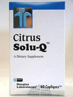 Douglas Lab's Citrus Solu-qã¿â¿â¾ 60caps