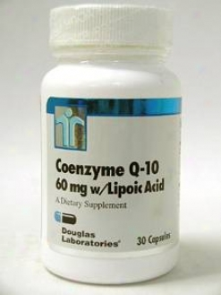 Douglas Lab's Coenzyme Q10 W/ Lipoic Acid 60 Mg 30 Caps