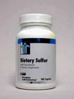 Douglas Lab's Dietary Sulphur With Ascorbates 100 Caps