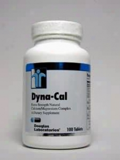 Douglas Lab's Dyna-cal 100 Tabs