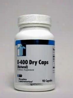 Douglas Lab's E-400 Dry Caps (natural) 400 Iu 90 Caps