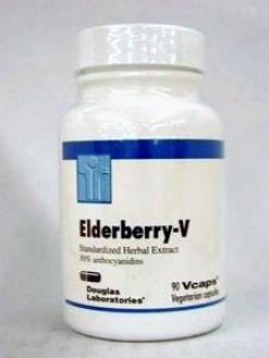 Douglas Lab's Elderberry-v 500 Mg 90vcaps