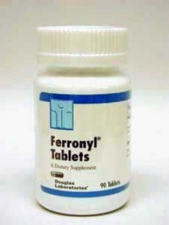 Douglas Lab's Ferronyl Tablets 9 Mg 90 Tabs