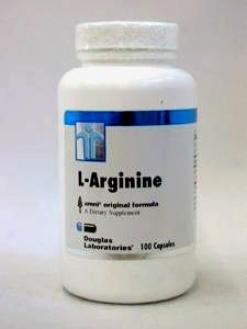 Douglas Lab's L-arginine 70 0Mg 100 Caps