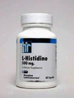 Douglas Lab's L-histidine 500 Mg 60 Caps