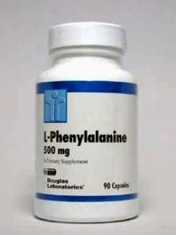 Douglas Lab's L-phenylalanine 500 Mg 90 Caps