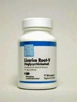 Douglas Lab's Licorice Root-v (deglycyrrhizinated) 300 Mg 90 Vcaps