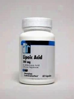Douglas Lab's Lipoic Acid 100 Mg 60 Caps