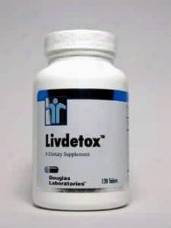 Douglas Lab's Livdetox 120 Tabs