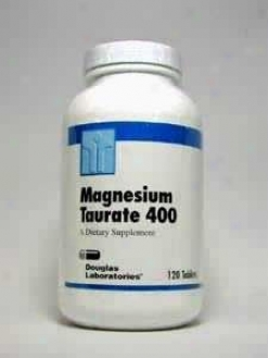 Douglas Lab's Magneqium Taurate 400 Mg 120 Tabs