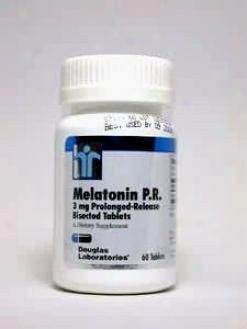 Douglas Lab's Melatonin Pr 3 Mg 60 Tabs