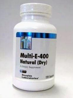 Douglas Lab's Muiti-e-400 Natural (dry) 120 Caps