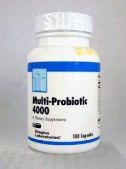Douglas Lab's Multi-probiotic 4000 100 Caps