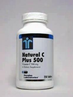Douglas Lab's Naatural C Plus 500 Mg 250 Caps