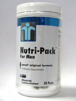 Douglas Lab's Nutri-pak For Men 30 Pkts