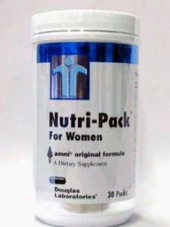 Douglas Lab's Nutri-pak For Women 30 Pkts