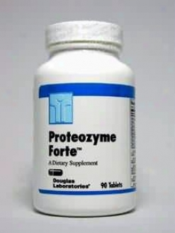 Douglas Lab's Proteozyme Fortee 90 Tabs
