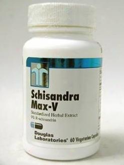 Douglas Lab's Schisandra Max-v 100 Mg 60 Vcaps