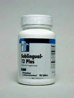 Douglas Lab's Sublingual 12 Plus 90 Tabs