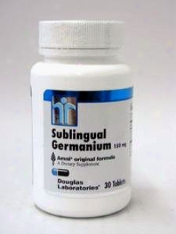 Douglas Lab's Sublingual Germanium 150 Mg 30 Tabs